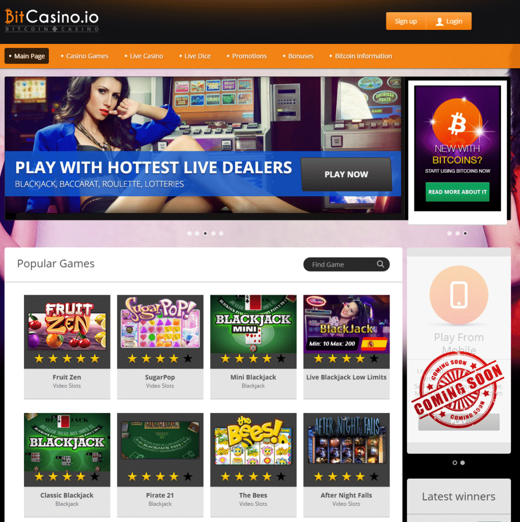 BitCasino.io Review - Is This A Safe Bitcoin Casino?