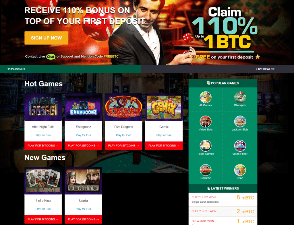 mBit Casino Review - mBit Ratings and Warnings