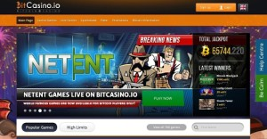 Net Entertainment at Bitcasino.io