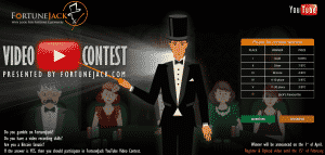 fortune jack video contest