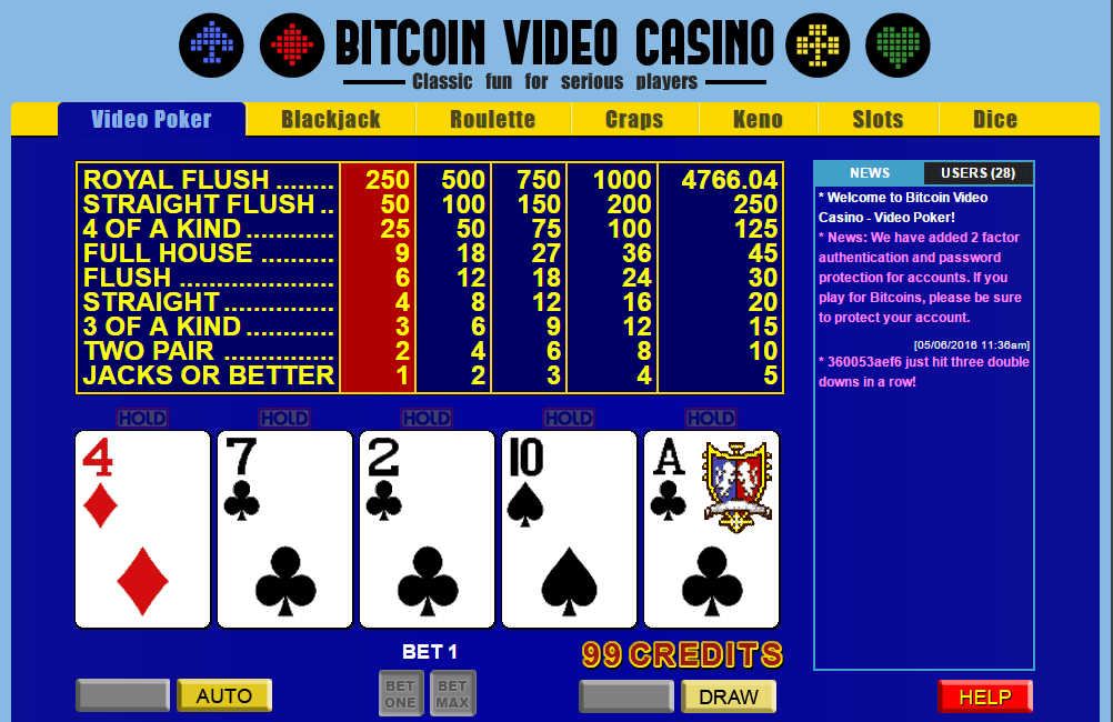 Bitcoin Gambling Website - Disefico - HTML - PHP